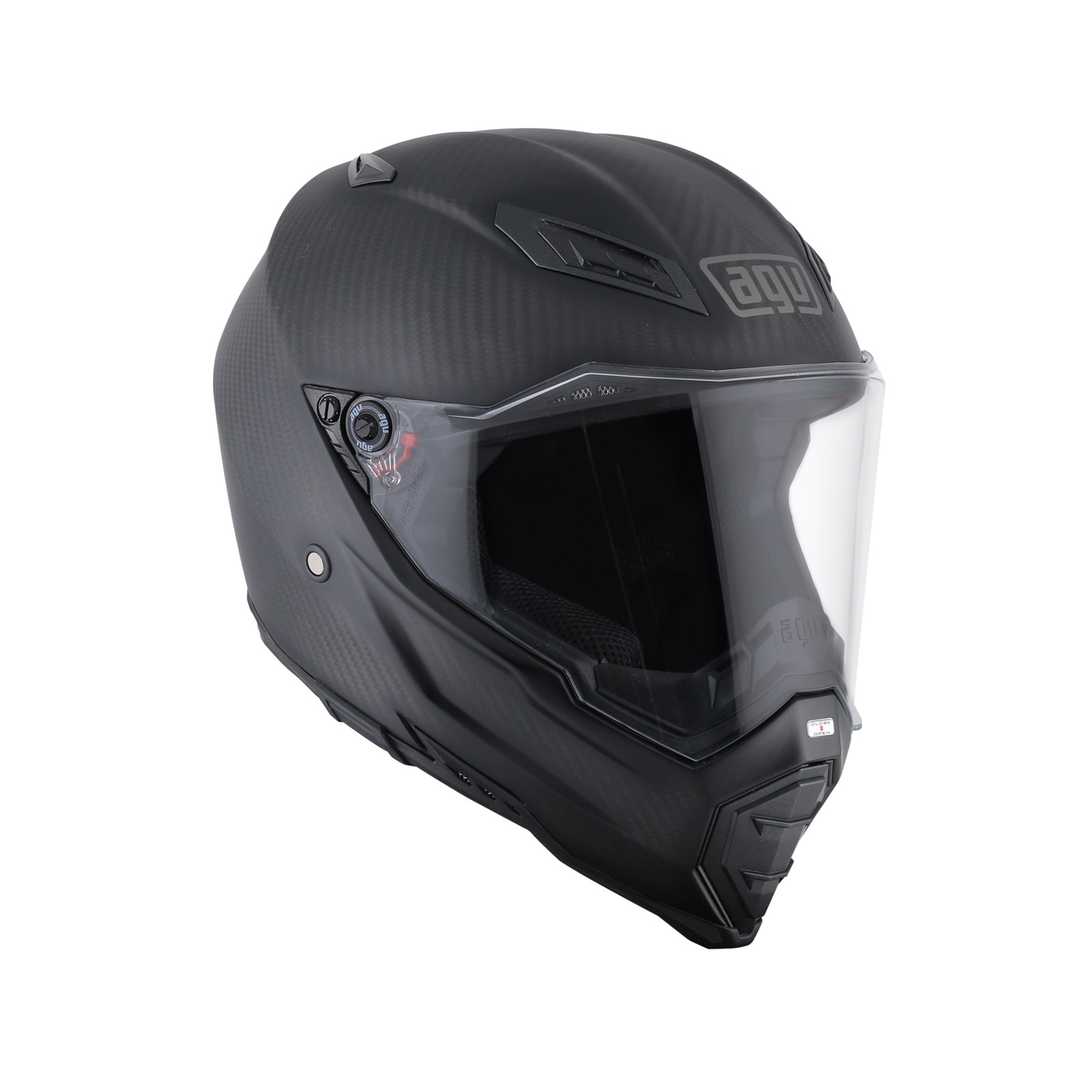 AGV AX8 Naked Carbon