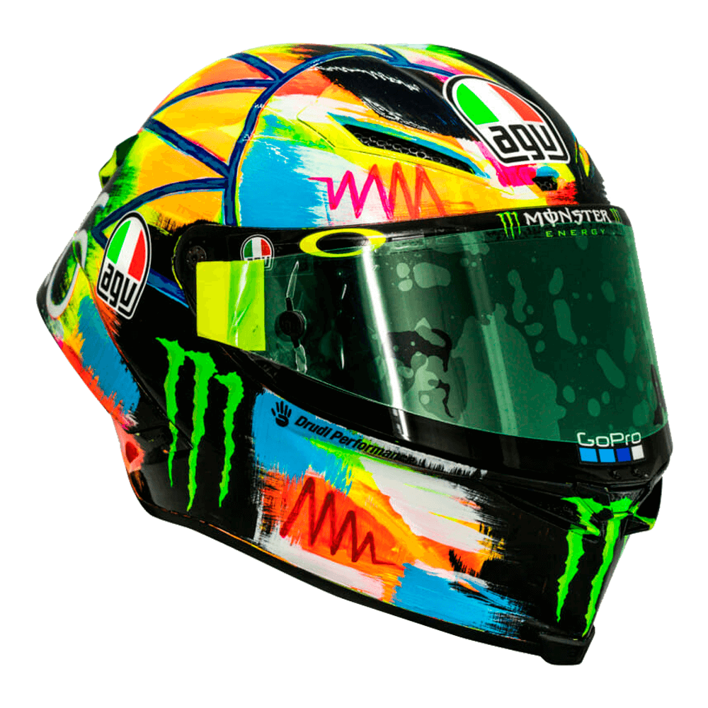 agv pista gp r rossi winter test 2019 motorcycle helmets. Black Bedroom Furniture Sets. Home Design Ideas