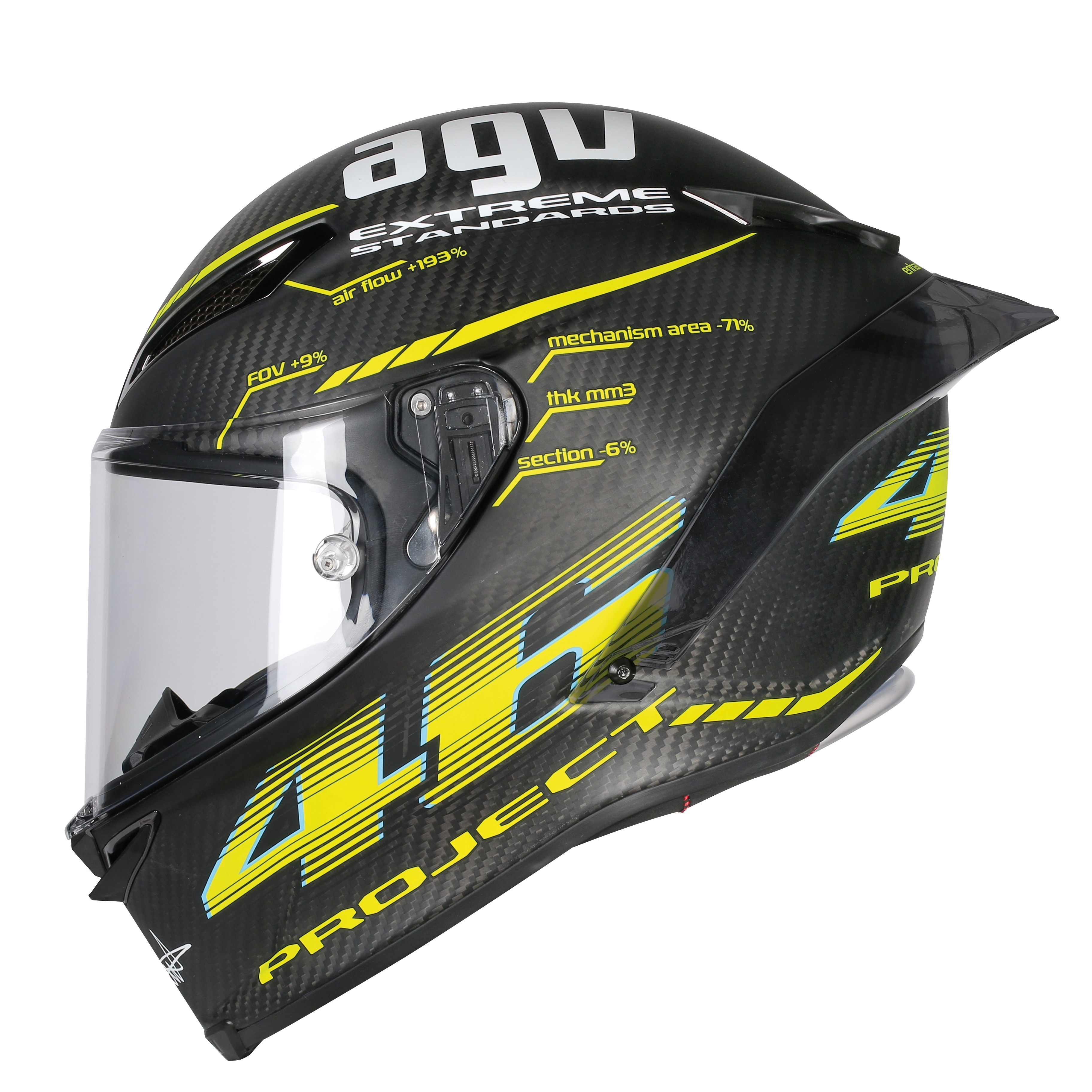 agv pista gp r project 46 matt 2 0 track racing helmet agv. Black Bedroom Furniture Sets. Home Design Ideas