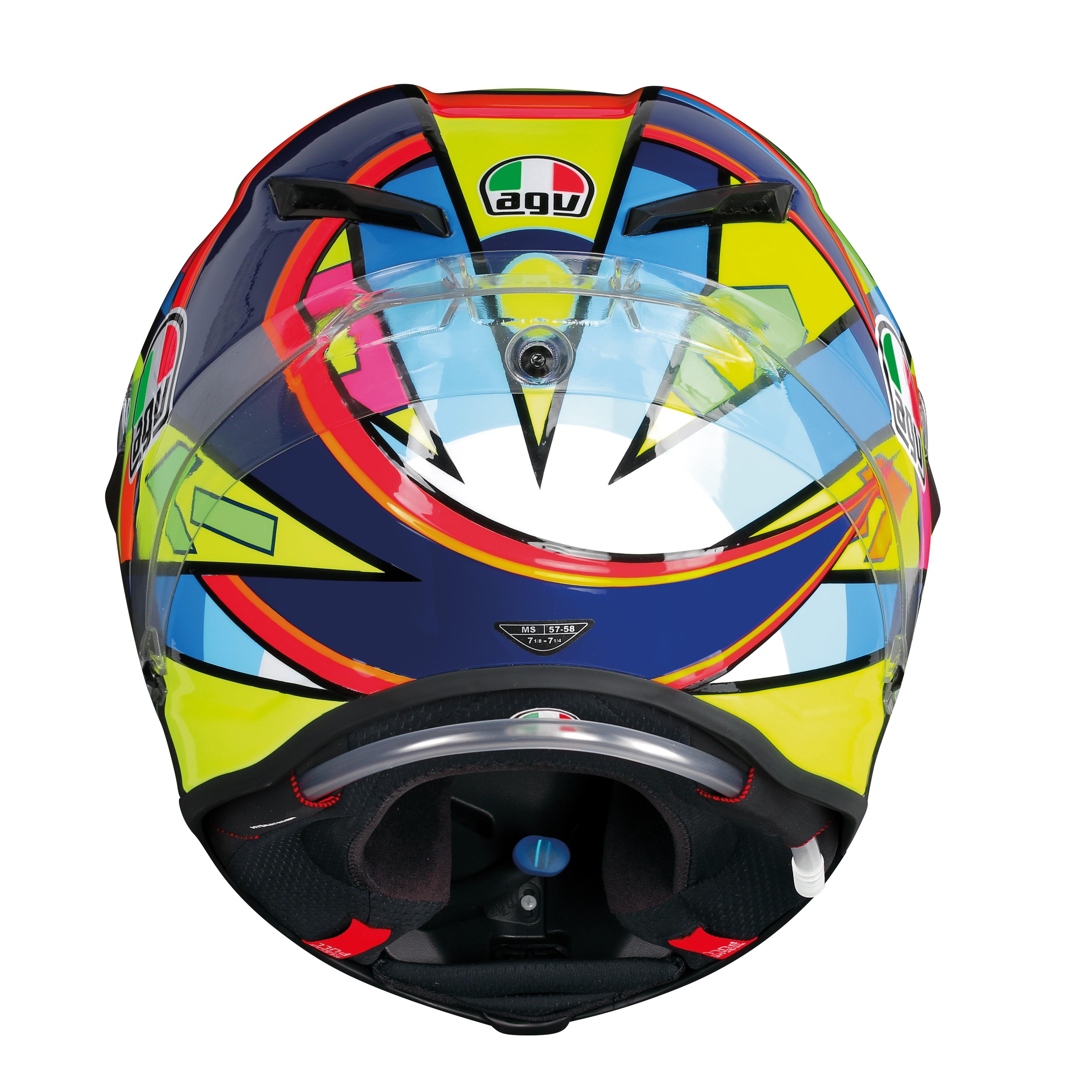 AGV Pista GP-R Soleluna 2016 | Full Face Rossi Replica Helmet
