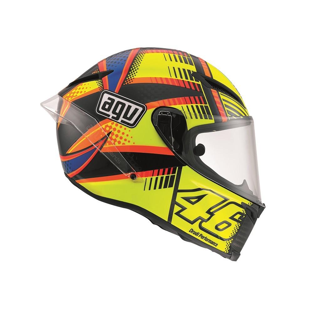 Agv Pista Gp Rossi Soleuna Qatar 2015 Helmet Rossi