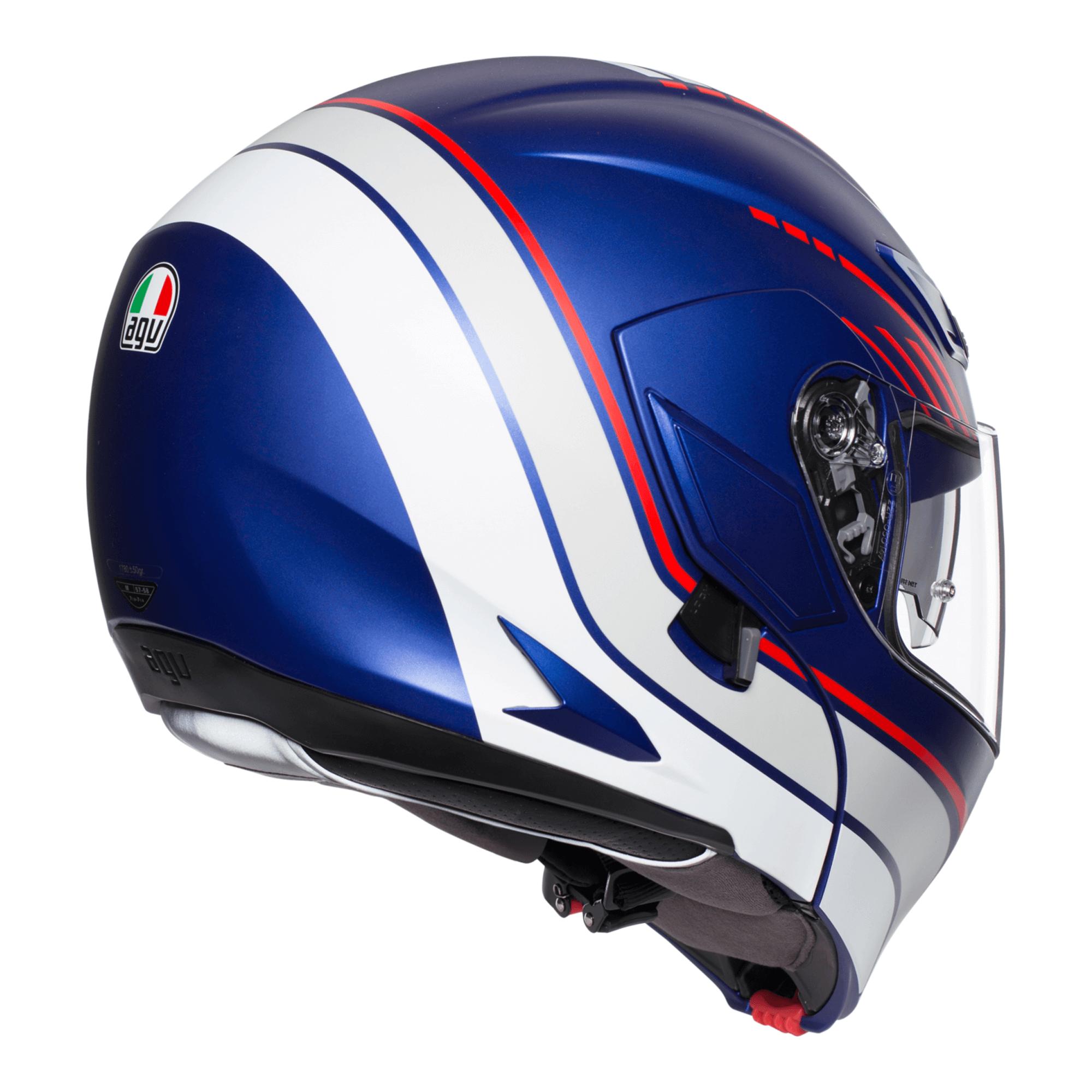 on sale AGV GT Veloce Monterey Pinlock Helmet Black/White