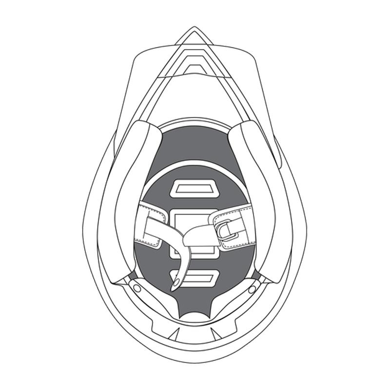 AGV AX8 Evo Top Pad