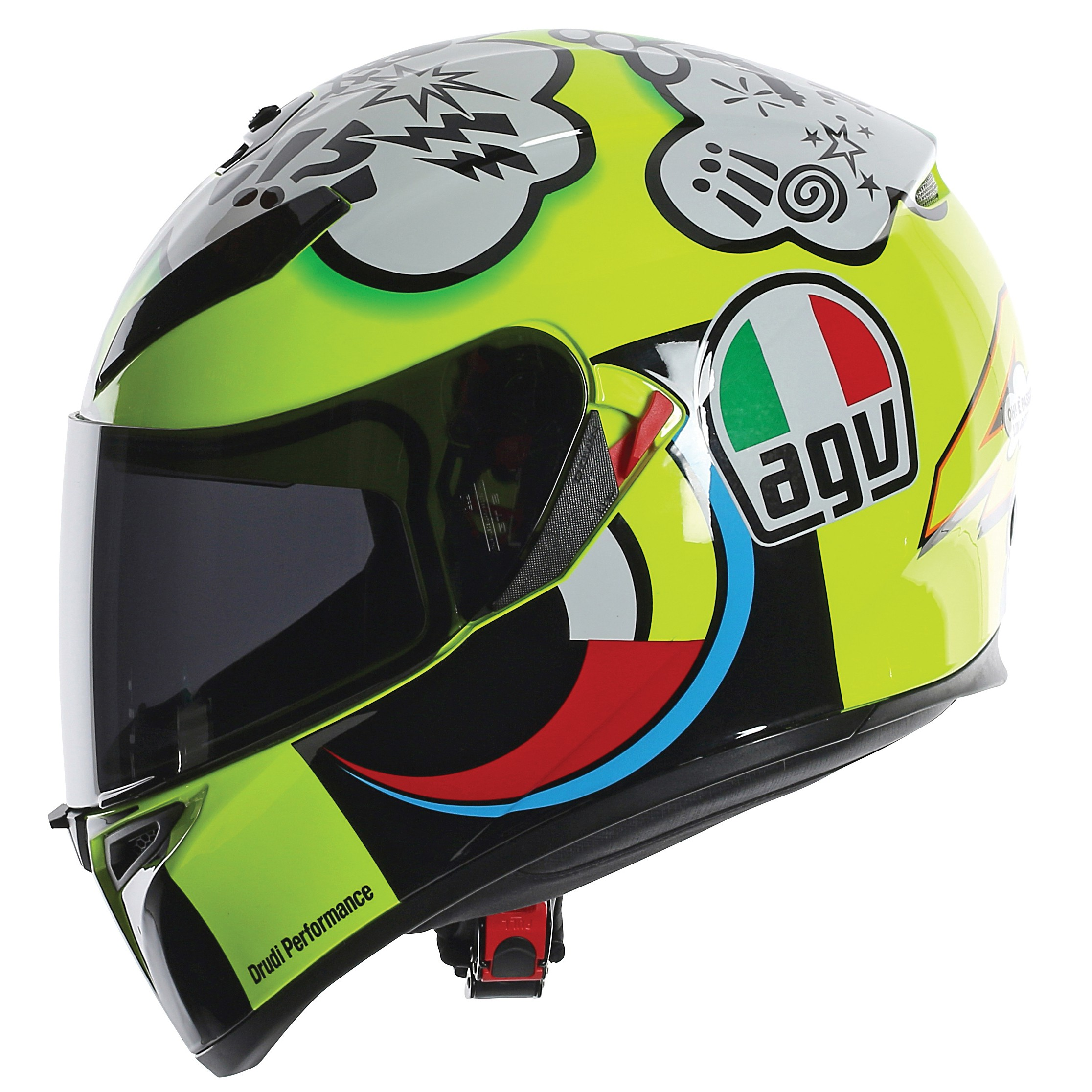 agv k3 sv rossi misano 2011 helmet rossi replica helmet. Black Bedroom Furniture Sets. Home Design Ideas