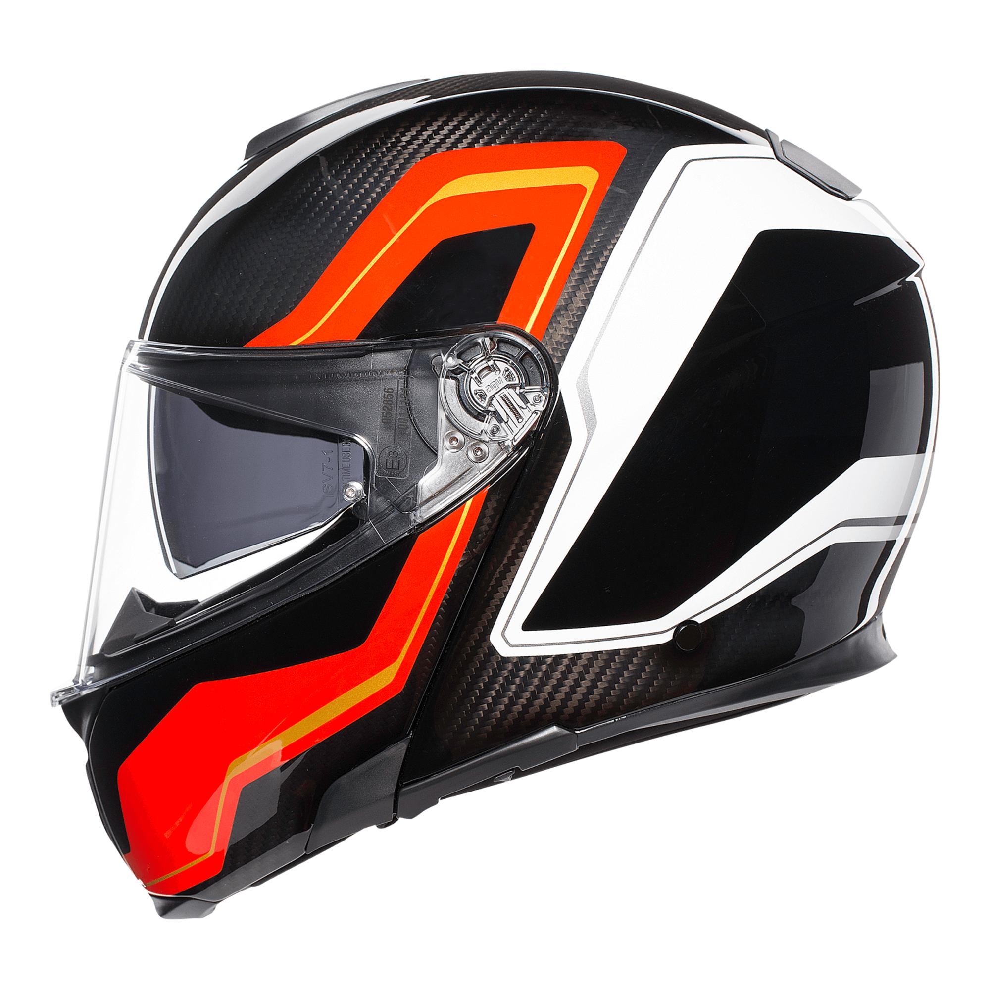 AGV Sport Modular Matte Carbon Helmet | 2Wheel