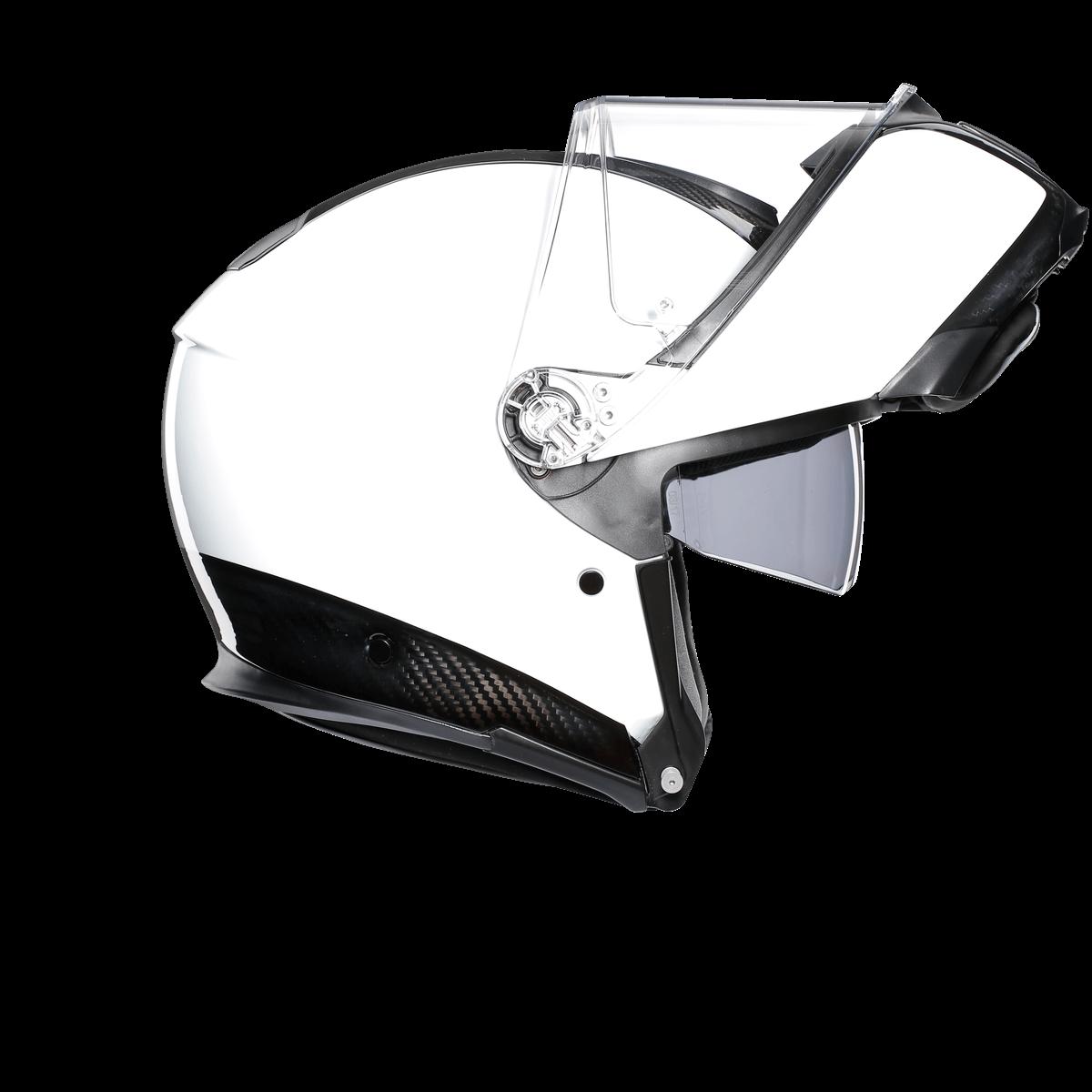 AGV Sport Modular Aero Carbon White