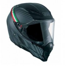 AGV AX8 Naked Carbon Black Forest