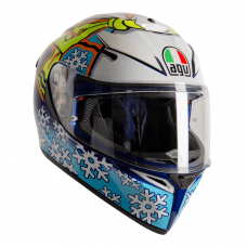 AGV K3 SV-S Rossi Winter Test 2016