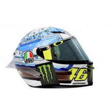 AGV Pista GP-R Rossi Winter test 2017