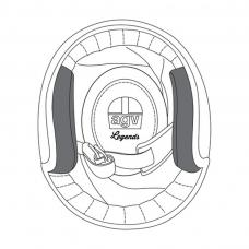 AGV X70 Premium Cheek Pads