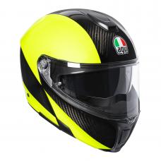 AGV Sportmodular HI VIS Carbon