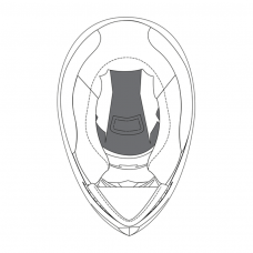 AGV K4 EvoTop Pad