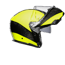 AGV Sport Modular HI VIS Carbon