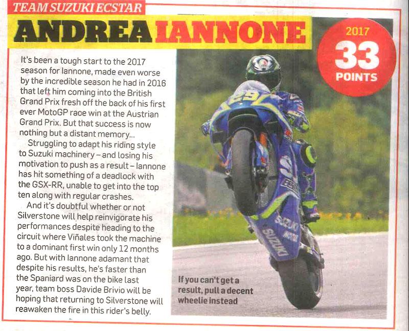 MCN'S Moto GP Preview – Andrea Lannone
