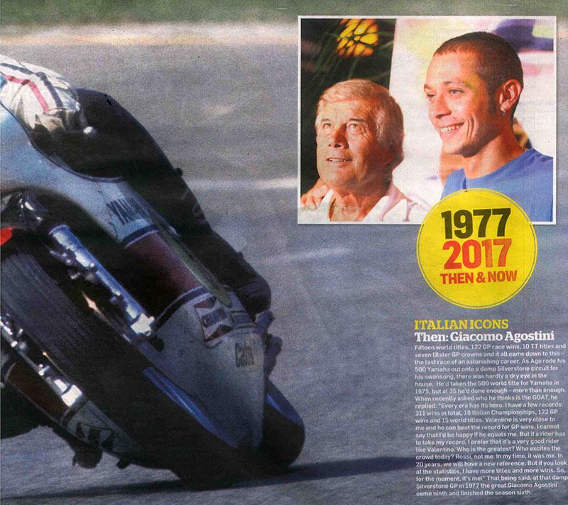 MCN'S Moto GP Preview – Italian Icons Then