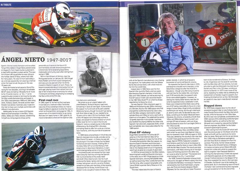 Racing Legend Angel Nieto