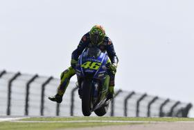 Rossi takes a heroic 5th place in Aragon.