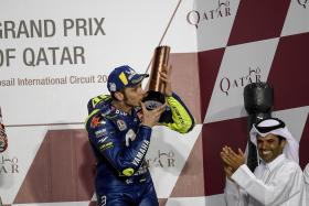 Rossi secures his first podium of 2018 in Doha