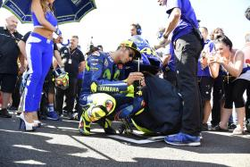 Movistar Yamaha go solo for their performance at the San Marino Grand Prix