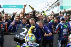 Movistar Yamaha Persistence Pays Off with Double Podium on Phillip Island