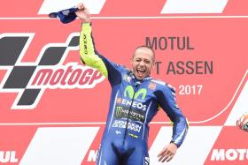Rossi Rallies to an Astonishing Win in Assen