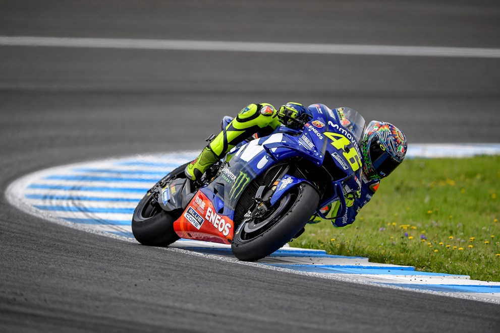 Fourth Row Start for Movistar Yamaha Teammates in Jerez de la Frontera
