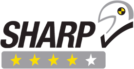 AGV K3 4 Star Safety Rating from SHARP