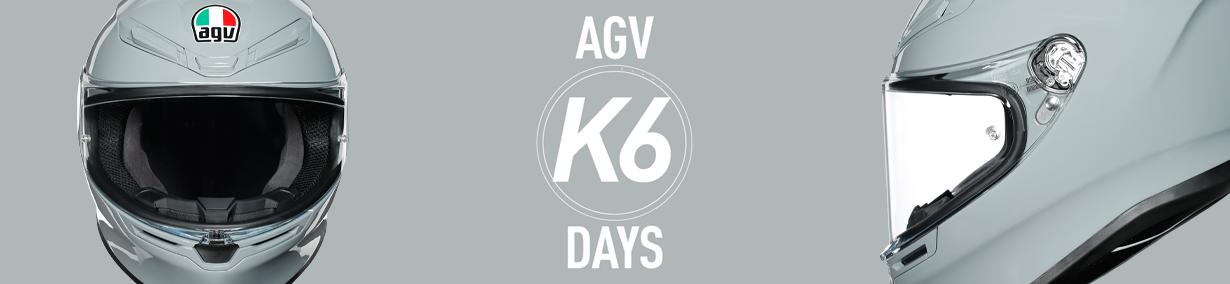 AGV K6 banner image